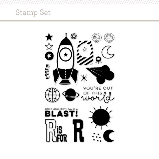 Stamp Set: Rocket
