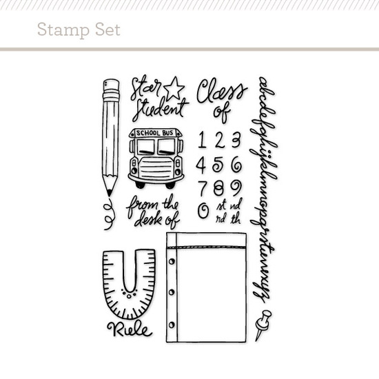 Stamp Set: Back to School
