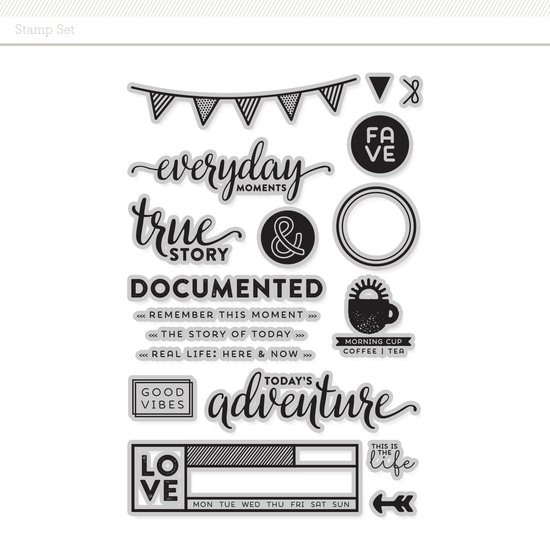 Stamp Set: Everyday Moments by In a Creative Bubble