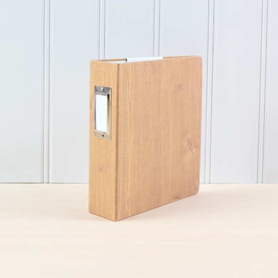 Handbook: Woodgrain Cloth Album 6x8