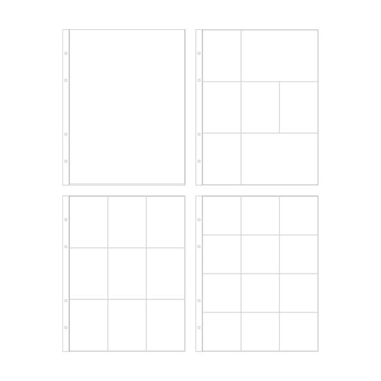 9x12 Multipack Page Protectors