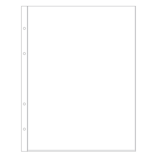 "9x12"" Page Protector 1B"