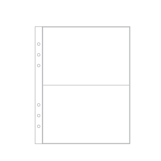 "6x8"" Page Protector 3A (6-ring)"