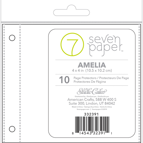 4x4 Page Protector - Refill Set 1