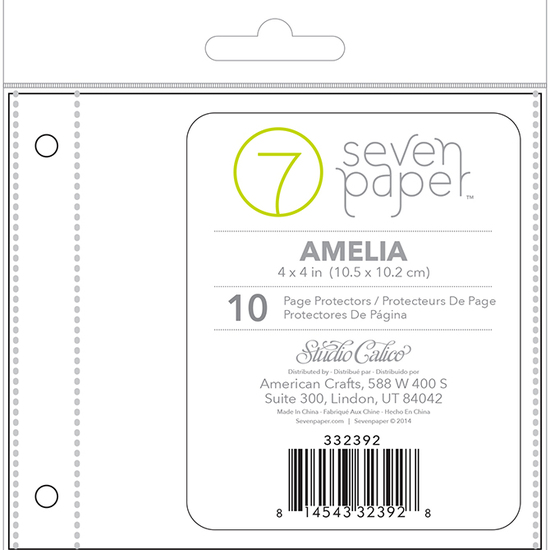 4x4 Page Protector - Refill Set 2