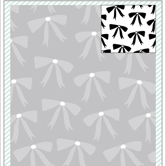 Dear Lizzy Fine & Dandy: Embossing Folder