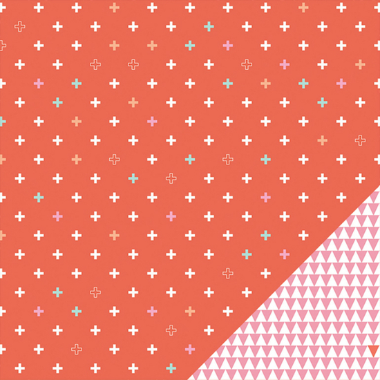 Amelia Patterned Paper 004