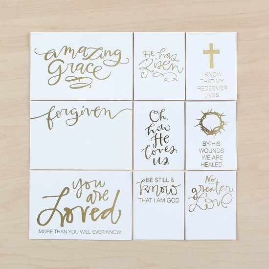 Religious Easter Card Set