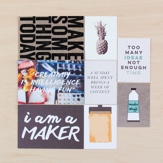 Maker Card Set by Life.Love.Paper