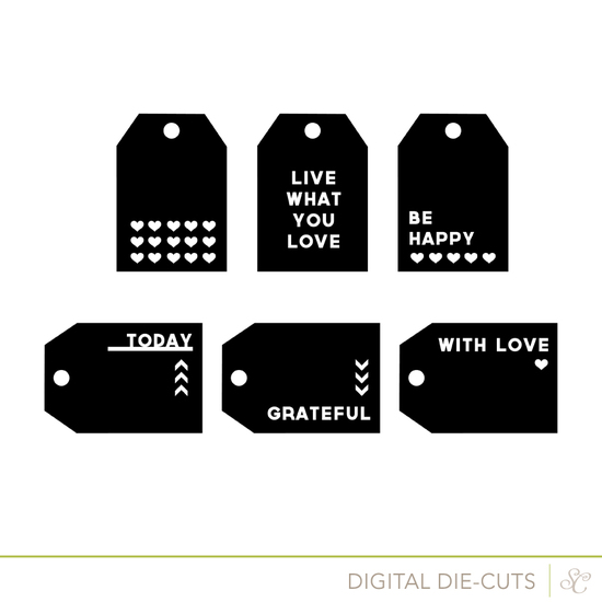 Shop tags cut