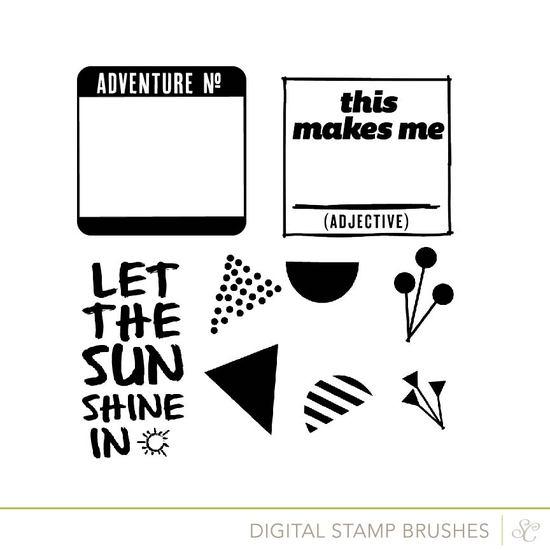 Shop scrap stamps