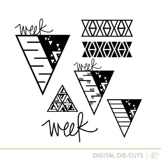 Shop week triangles