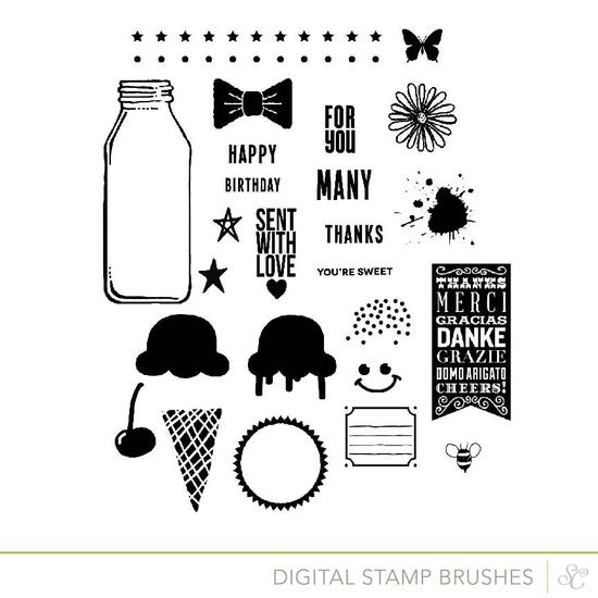Shop card stamps