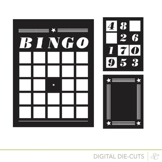 Shop bingo cards