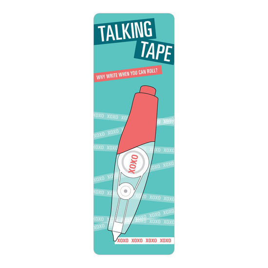 Xoxo talking tape