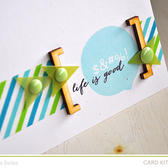 Life is good card detail (add on 1  pl   card kit)
