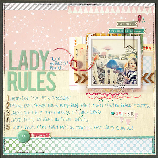 Lady rules