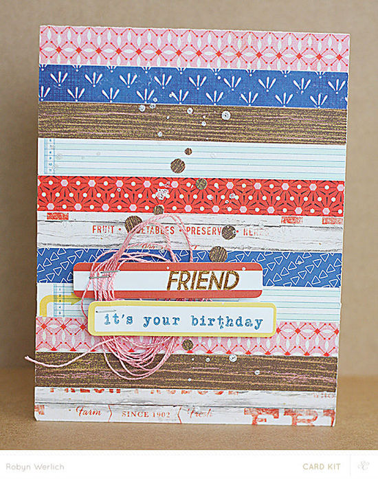 Rw friend card