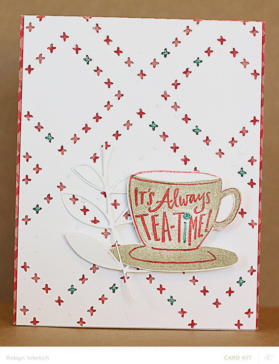 Tea time addon stamp rw