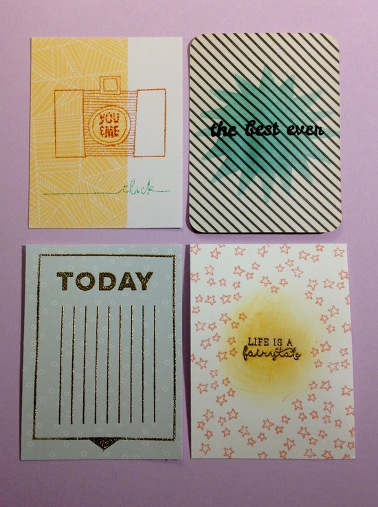 Stamping pl cards