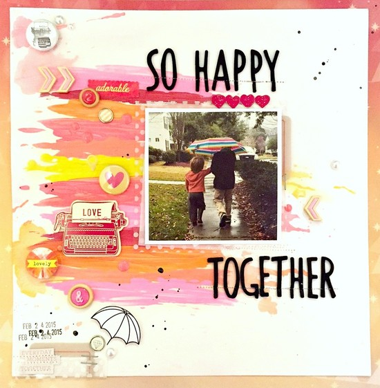 So happy together layout   ls