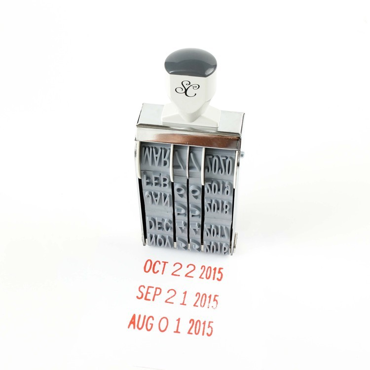 Blog: Hello Mega Date Stamp - Studio Calico