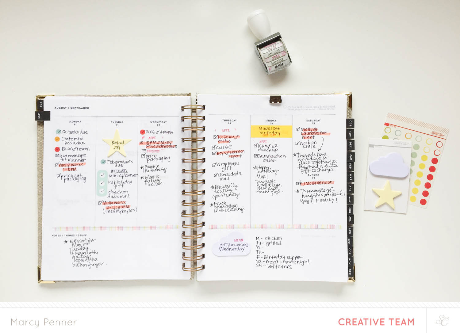 Blog: Video | Setting up Your Planner with the - Studio Calico