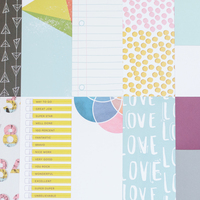 Scrapbook main papers sandlot