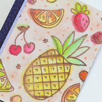 Card main fruit cocktail closeup ls