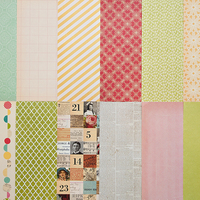 Picture of Add-On Patterned Paper  - November 2011