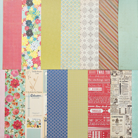 Picture of Add-On Patterned Paper - December 2011