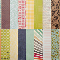 Picture of Add-On Patterned Paper - January 2012