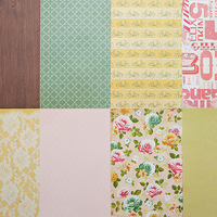 Picture of More Patterned Paper - April 2012