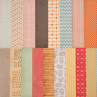 Picture of Add-On Patterned Paper - July 2012