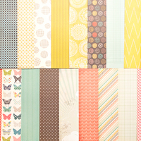 Picture of Add-On Patterned Paper - August 2012