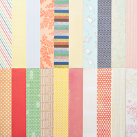 Picture of Add-On Patterned Paper - October 2012