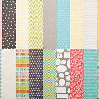Picture of Add-On Patterned Paper - November 2012