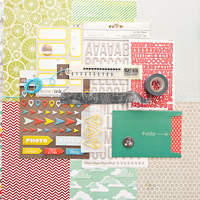 Picture of Block Party Scrapbook Kit