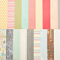 Picture of Add-On Patterned Paper - January 2013