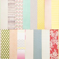 Picture of Add-on Patterned Paper -  February 2013
