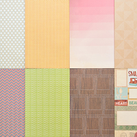Picture of Add-on Patterned Paper - April 2013
