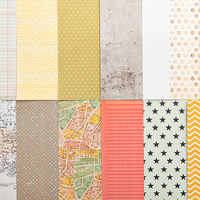 Picture of Add-on Patterned Paper - May 2013