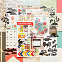 Picture of ROUNDABOUT Scrapbook Kit