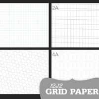 Picture of SC Grid Paper 12x12