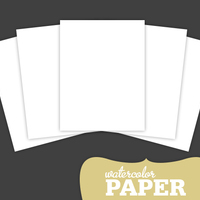 Picture of Watercolor Paper Pack (set of 5)