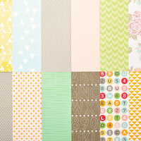 Picture of Add-on Patterned Paper - July 2013