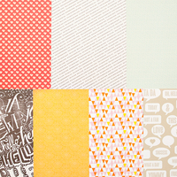 Picture of SC Patterned Paper - July 2013