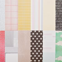 Picture of Add-on Patterned Paper - August 2013
