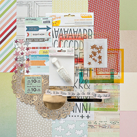 Picture of DOUBLE SCOOP Scrapbook Kit