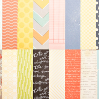 Picture of Add-on Patterned Paper - September 2013